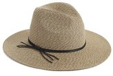 Hinge Women's Woven Panama Hat - Brown