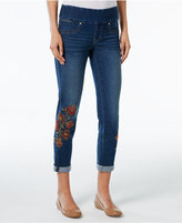 Style&Co. Style & Co Petite Embroidered Jeggings, Only at Macy's