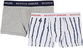 Scotch Shrunk STRETCH-COTTON JERSEY BOXER BRIEF SET