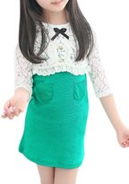 uxcell® Girls 3/4 Sleeves Shrug w Sleeveless Dress Sets Allegra Kids