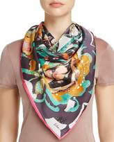 Echo Folklore Paisley Silk Square Scarf - 100% Exclusive