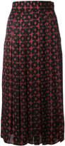 Fendi two-tone skirt
