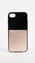 Kate Spade Metallic Scallop Adhesive Phone Pocket