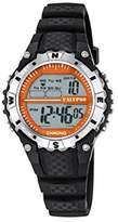 Calypso Unisex Digital Watch with LCD Dial Digital Display and Black Plastic Strap K5684/3