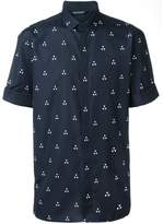 Neil Barrett geometric print shirt