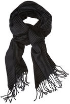 Perry Ellis Jacquard Ombre Stripe Scarf