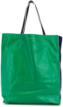 Marni Two-Tone Large Tote Bag