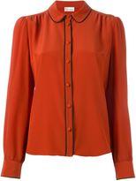 RED Valentino round collar shirt
