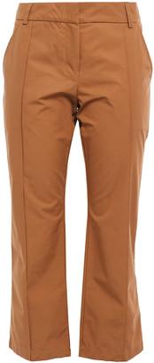 Silvia Tcherassi Cropped Cotton Bootcut Pants