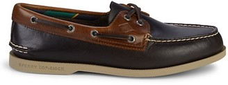 Sperry Two-Tone Eye Plush Leather Boat Shoes