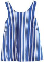 Parker Chinti & Blue Striped Parasol Tie Back Top