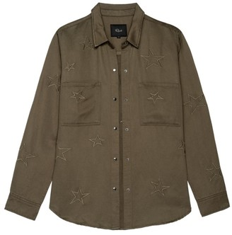 Rails Marcel Star Embroidered Shirt
