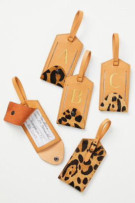 Anthropologie Animalia Monogram Luggage Tag By in Size A