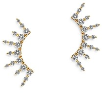 Bloomingdale's Diamond Ear Climbers in 14K Yellow Gold, 0.75 ct. t.w. - 100% Exclusive
