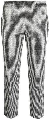 Piazza Sempione Diamond Print Cropped Trousers