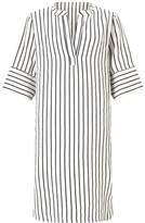 Jigsaw Stripe Linen Dress