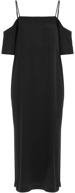 Alexander Wang Crepe Off-the-Shoulder Dress