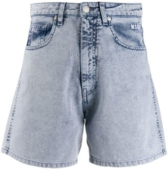 MSGM Washed Out Shorts