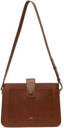 A.P.C. Brown Albane Bag