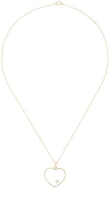 Yvonne Léon 18K yellow gold crystal-embellished necklace