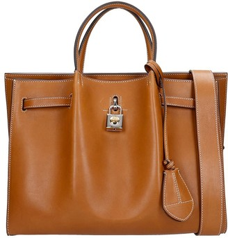 Lanvin Bogey Tote In Leather Color Leather