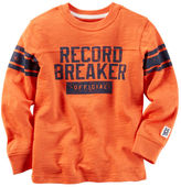 Carter's Long-Sleeve Record Breaker Graphic Tee
