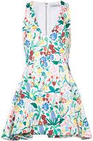 Alice + Olivia Alice+Olivia - floral print draped dress - women - Cotton/Polyester/Spandex/Elastane - 6