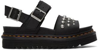 Dr. Martens Black Stud Voss Sandals