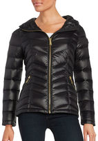 Calvin Klein Petite Short Packable Down Puffer Coat