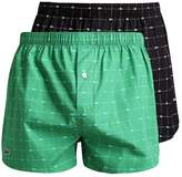 Lacoste Authentics 2 Pack Boxer Shorts Green
