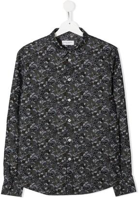 Paolo Pecora Kids TEEN floral long-sleeve shirt
