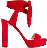 Jimmy Choo 'Kaytrin 120' platform sandals - women - Leather/Suede - 41