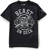 Under Armour Big Boys 8-20 Beast on Deck Short-Sleeve Tee