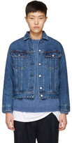 Acne Studios Blue Denim Lamp Jacket