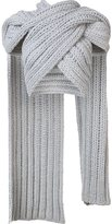 Christian Siriano knitted wrap scarf - women - Cotton - 0