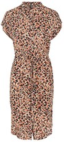 Thumbnail for your product : Pieces Animal Print Shirt Dress