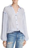 Free People Headed to the Highland Semi-Sheer Shirt