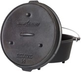 Camp Chef 12-Quart Cast-Iron Deluxe Dutch Oven
