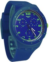 Swatch Men's Originals SUSN400 Rubber Quartz Watch with Dial