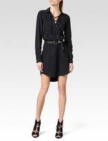Paige Billie Shirtdress - Black