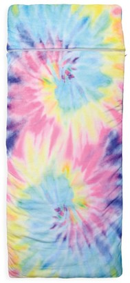 Iscream Kid's Pastel Tie-Dye Sleeping Bag