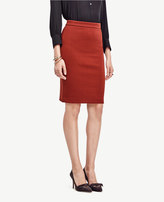 Ann Taylor Petite Textured Knit Pencil Skirt