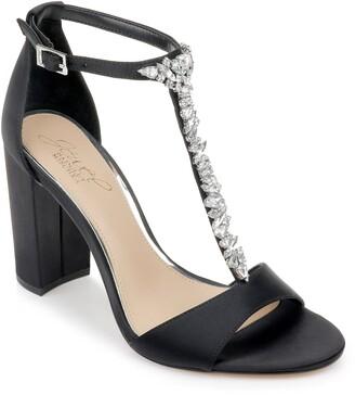 Badgley Mischka Benton Block Heel Sandal