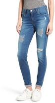 BP Women's Ripped Skinny Jeans