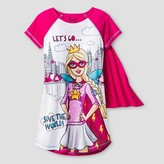Barbie Girls' Nightgown - Pink