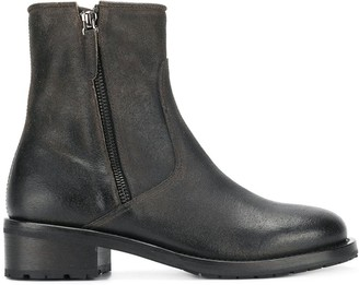 Henderson Baracco zipped chelsea boots