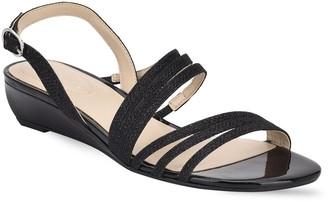 Bandolino Tambi Strappy Wedge Sandal