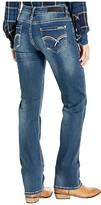 Rock and Roll Cowgirl Boyfriend in Dark Vintage W2-3451 (Dark Vintage) Women's Jeans