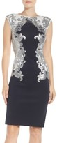 Tadashi Shoji Women's Sequin Neoprene Dress