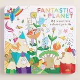 Cost Plus World Market Fantastic Planet Wood Free Colored Pencils Set of 24